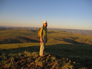 Nearby Harsin Butte is a fine place to watch a July sunset (and it's open to the public for hiking).