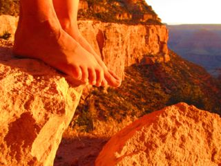 """Sure all the classroom work and learning was fun--but--what """"made"""" my week was being able to wake up early and hit the Bright Angel Trail for 3-6 miles of Canyon therapy."""