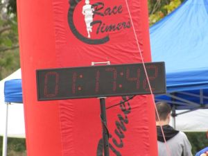 10k race result . . . the numbers can never capture all that went on during this brief-but-intense span of time.
