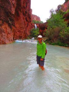 Crossing Havasu Creek