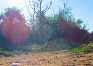 barefoot trail running