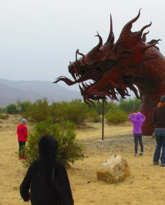 And of course the Ricardo Breceda metal sculptures scattered around Borrego Springs (on private land) are always fun for kids to stare at.