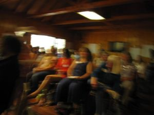 Why was I in Wrightwood hiking? I arrived early for the first-ever Wrightwood Literary Festival, organized by Rattle editor Tim Greene. It was a wonderful event, and I'm looking forward to returning next year.