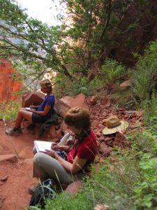 nature writing at Grand Canyon