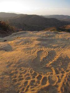 bare footprint