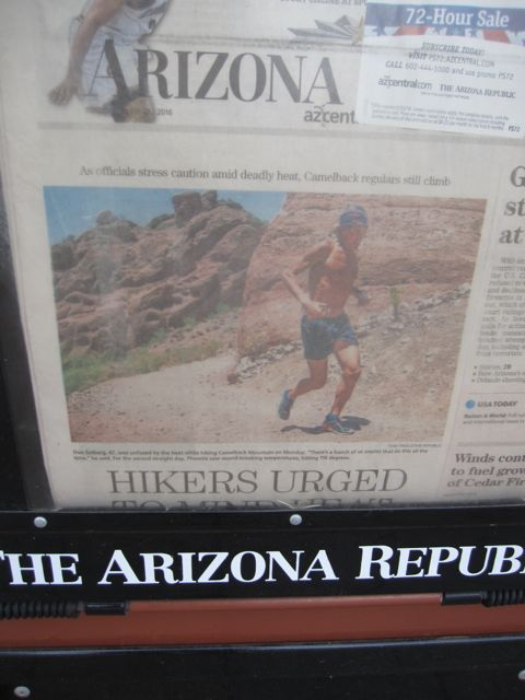 arizona republic heat warning
