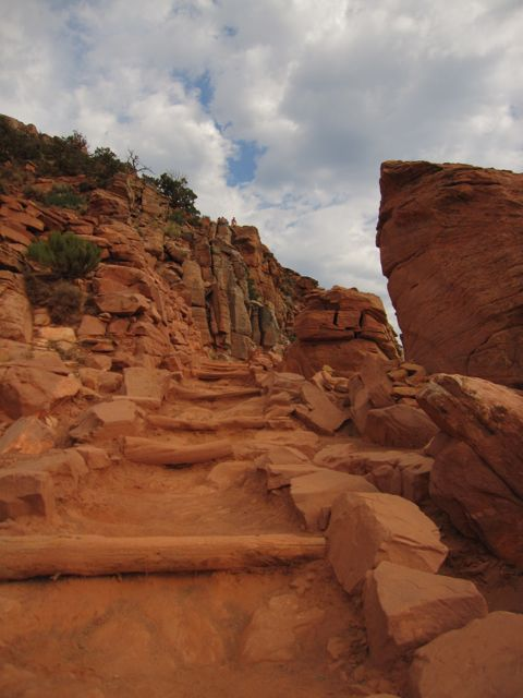 south kaibab steps