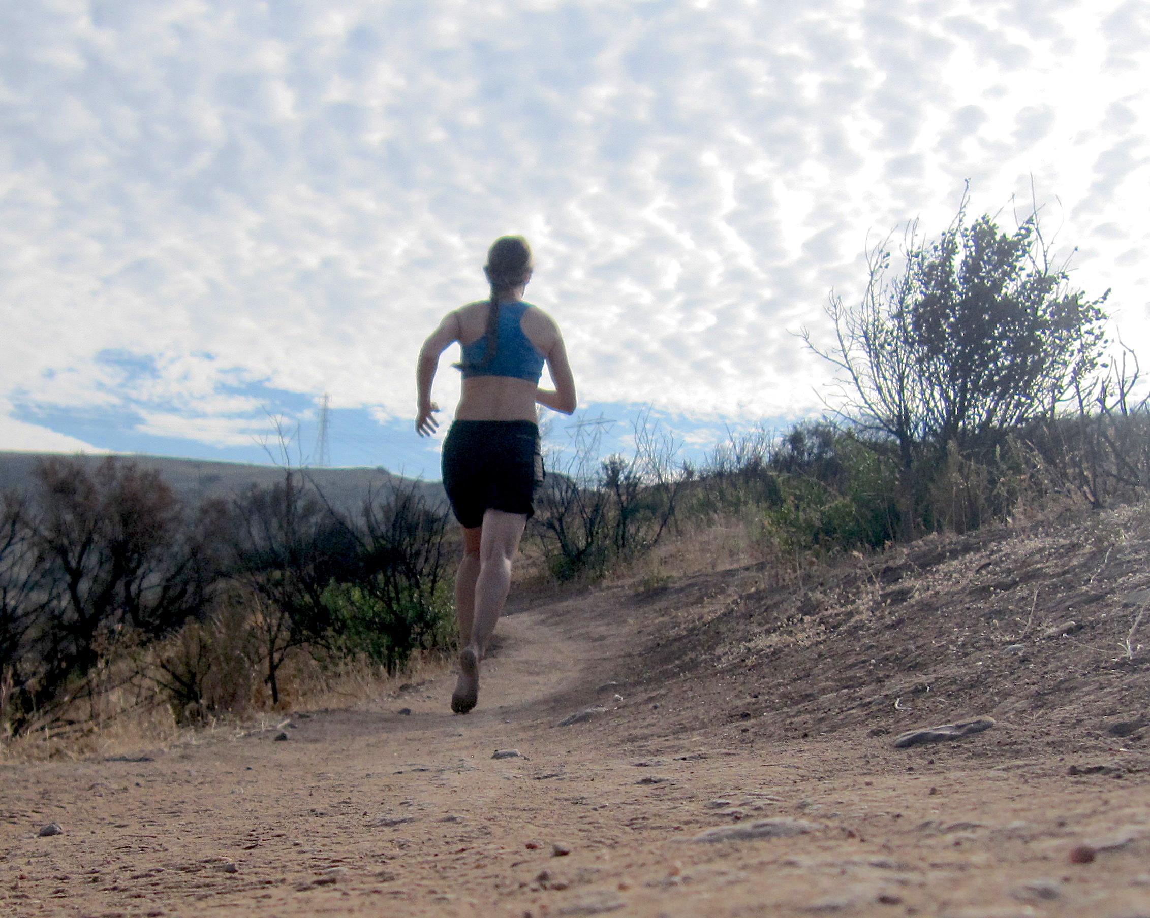 barefoot summer running