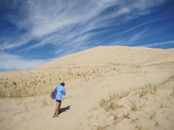 Kelso dunes hike