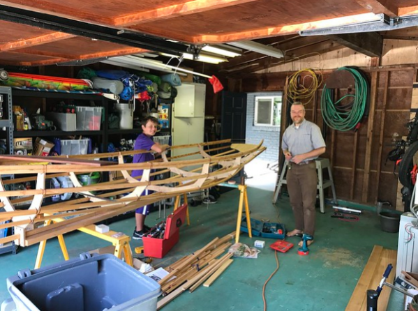 barefoot boat building