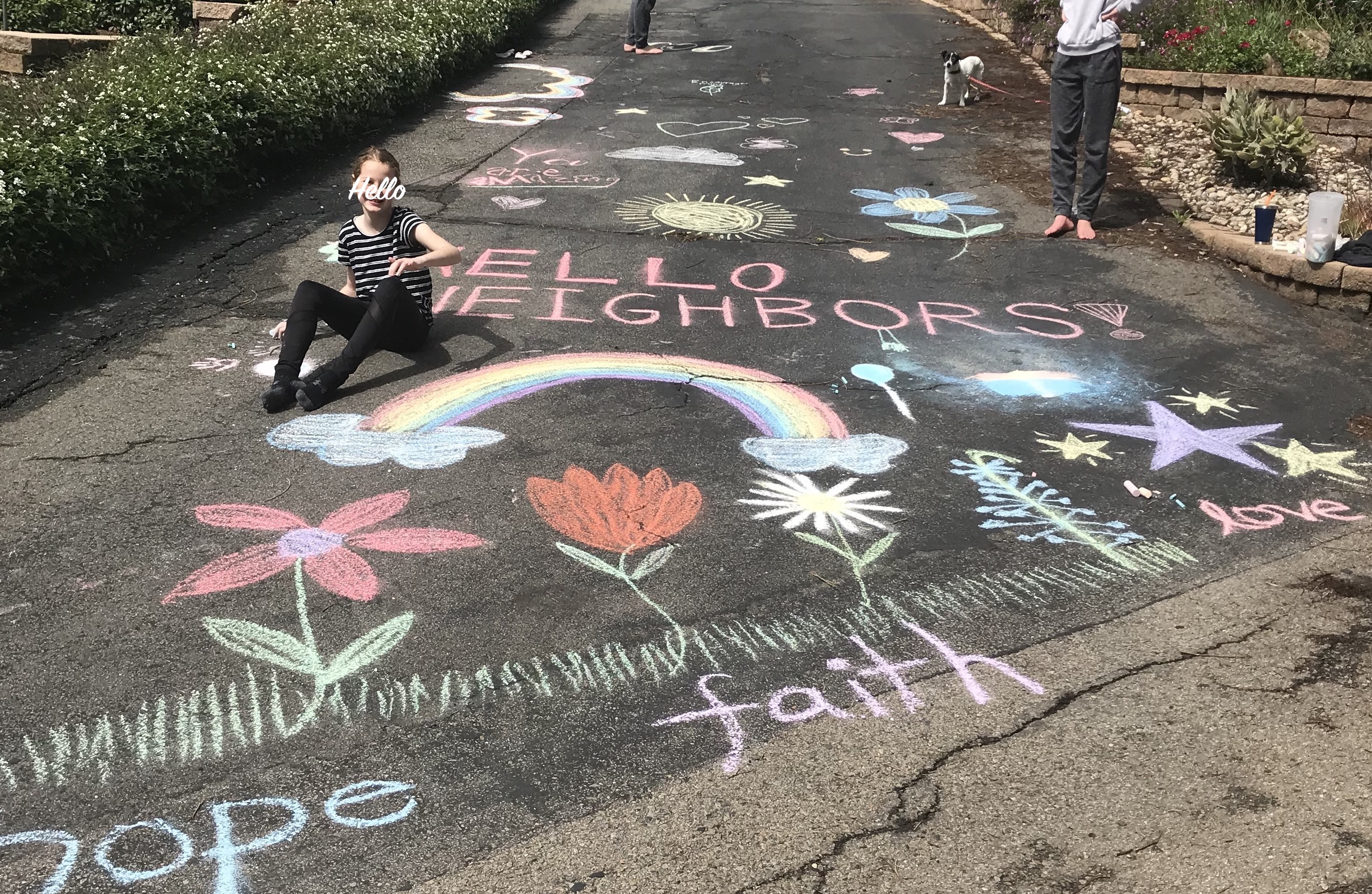 Chalk greetings