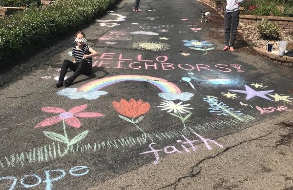 Chalk greetings